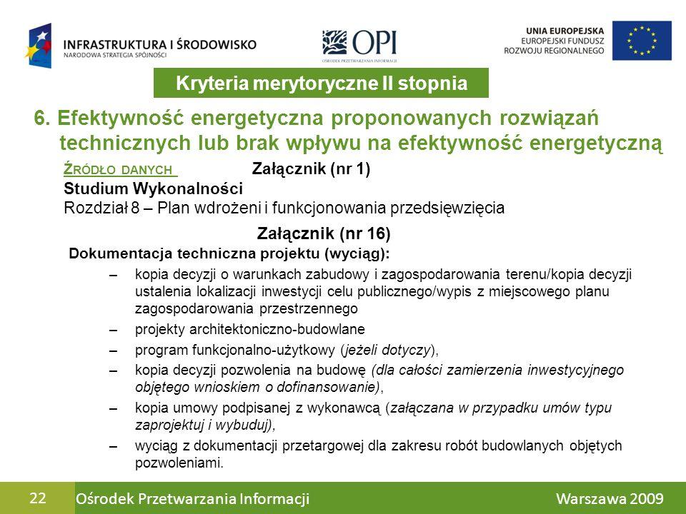 Ośrodek Przetwarzania Informacji Warszawa 200922 6.