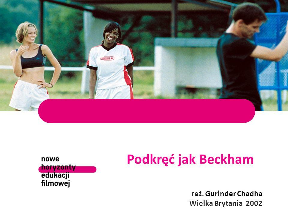 Podkręć jak Beckham reż. Gurinder Chadha Wielka Brytania 2002