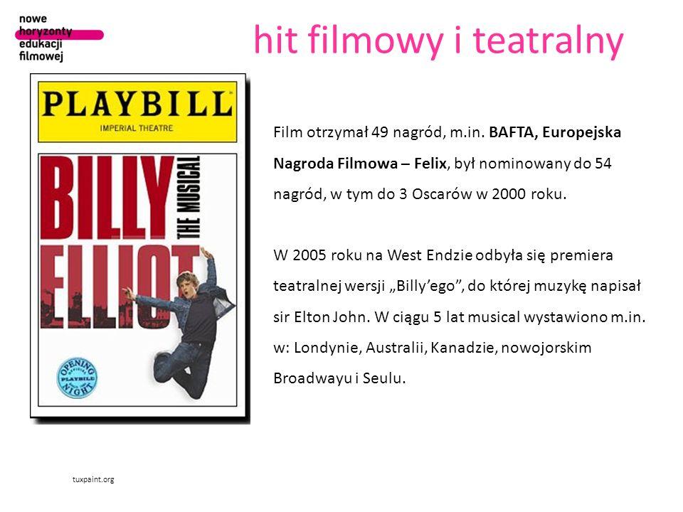hit filmowy i teatralny tuxpaint.org Film otrzymał 49 nagród, m.in. BAFTA, Europejska Nagroda Filmowa – Felix, był nominowany do 54 nagród, w tym do 3