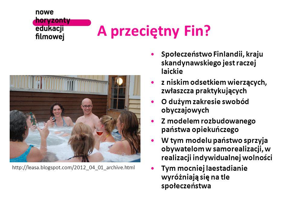 A przeciętny Fin? Społeczeństwo Finlandii, kraju skandynawskiego jest raczej laickie z niskim odsetkiem wierzących, zwłaszcza praktykujących O dużym z