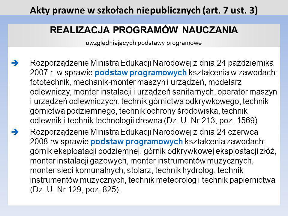 STOSOWANIE ZASAD KLASYFIKOWANIA I PROMOWANIA oraz przeprowadzania egzaminów i sprawdzianów Rozporządzenie Ministra Edukacji Narodowej z dnia 30 kwietnia 2007r.