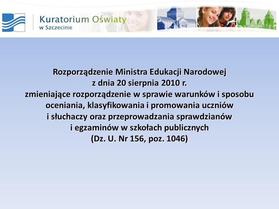 W rozporządzeniu MEN z dnia 30 kwietnia 2007 r.