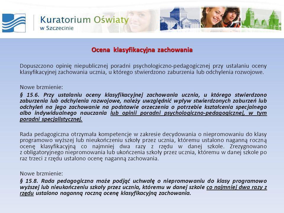 Egzamin klasyfikacyjny Wpisano nowe zajęcia dydaktyczne - zajęcia techniczne i zajęcia artystyczne.