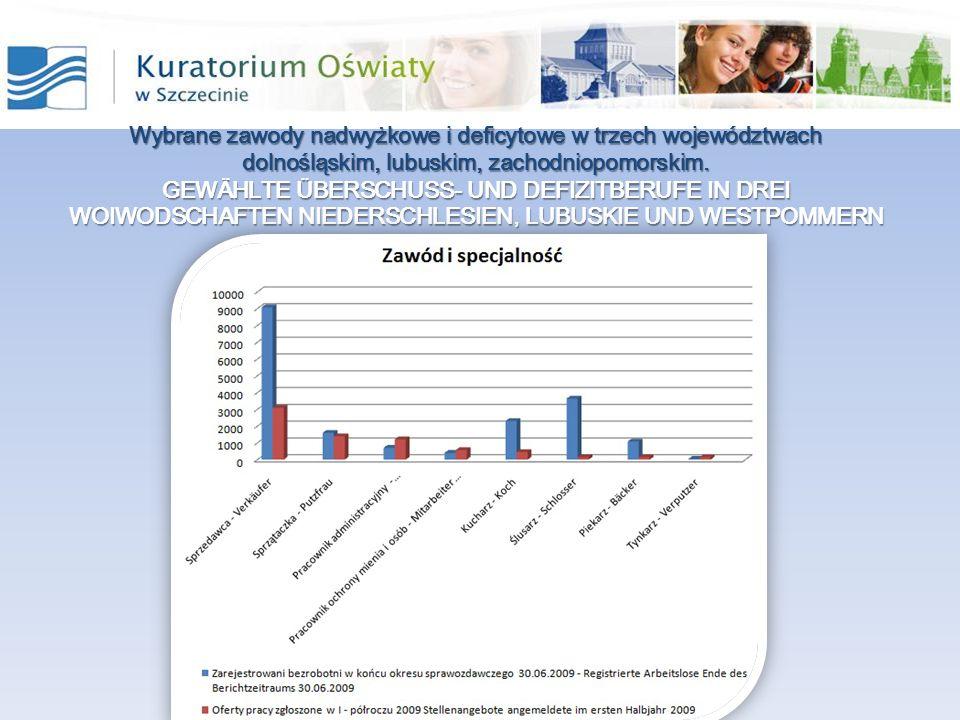 Przykłady.– ZAWODY NADWYŻKOWE Beispiele – Überschussberufe Przykłady.