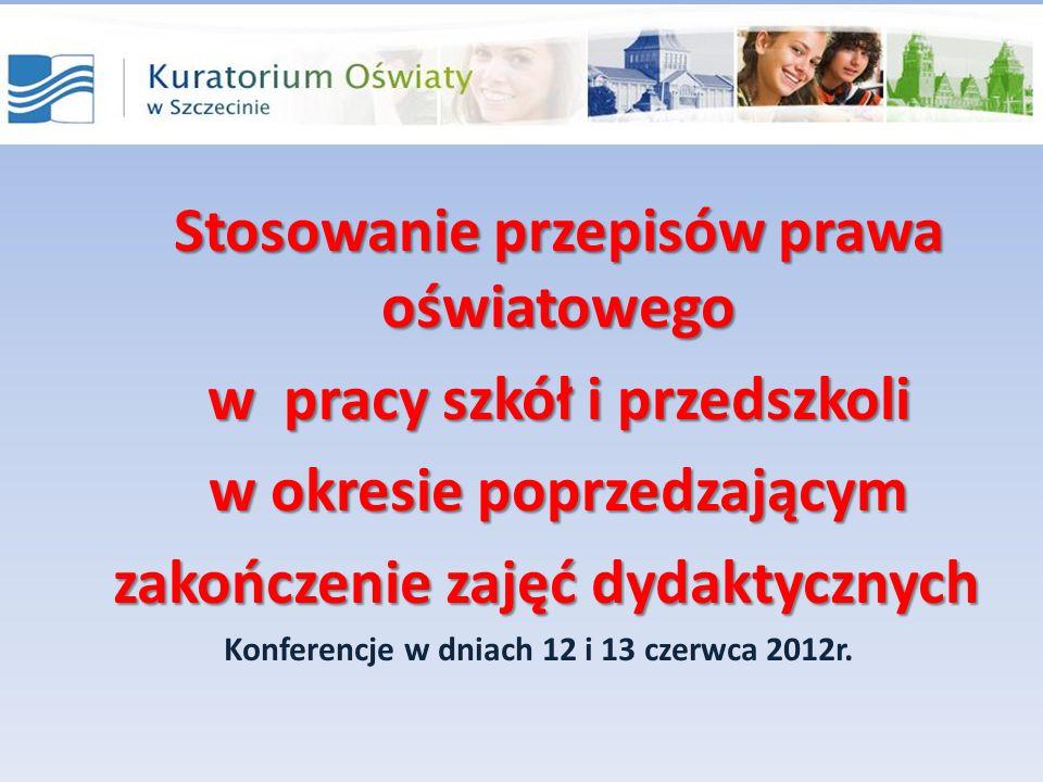 Świadectwa i inne druki szkolne § 14 rozporządzenie MEN z dnia 28 maja 2010r.