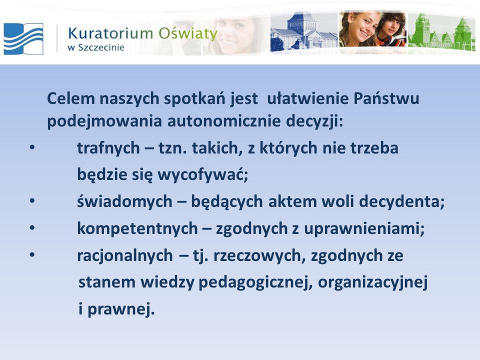 Program konferencji Przepisy prawa ułatwiające zarządzanie przedszkolem.