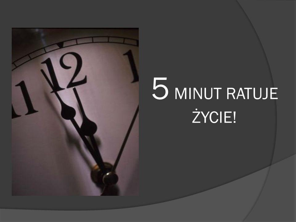 5 MINUT RATUJE ŻYCIE!