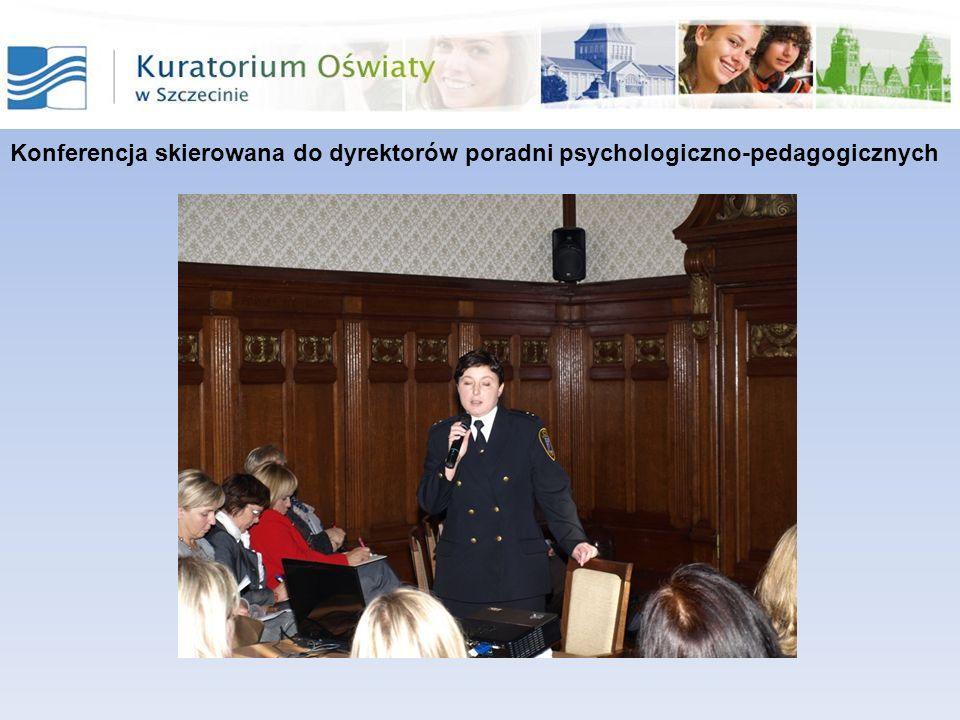Kolejne konferencje zorganizowane zostały przez Poradnie Psychologiczno- Pedagogiczne we współpracy z urzędami, instytucjami i organizacjami zajmującymi się szeroko rozumianym bezpieczeństwem i profilaktyką dzieci i młodzieży.