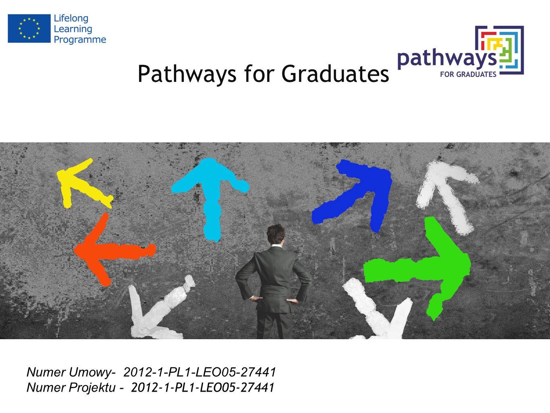 Pathways for Graduates Numer Umowy- 2012-1-PL1-LEO05-27441 Numer Projektu - 2012-1-PL1-LEO05-27441