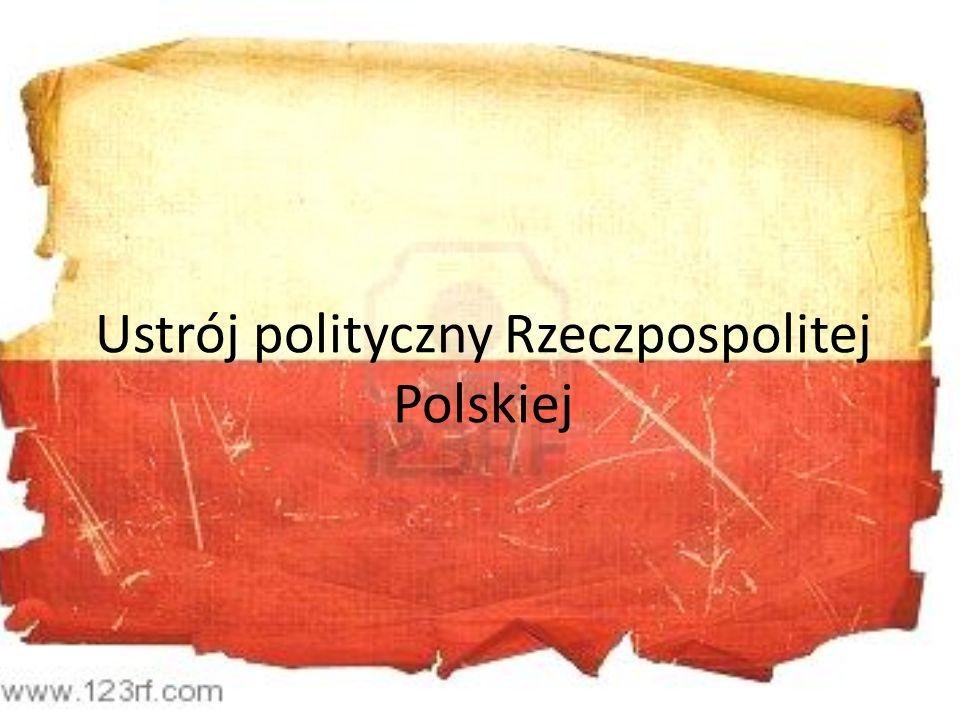 Władza Ustawodawcza Zgodnie z zapisem w Konstytucji Rzeczpospolitej Polskiej z roku 1997, władza ustawodawcza, należy do dwuizbowego Parlamentu.