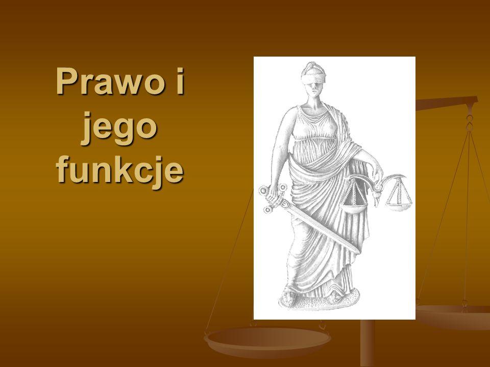 Prawo i jego funkcje