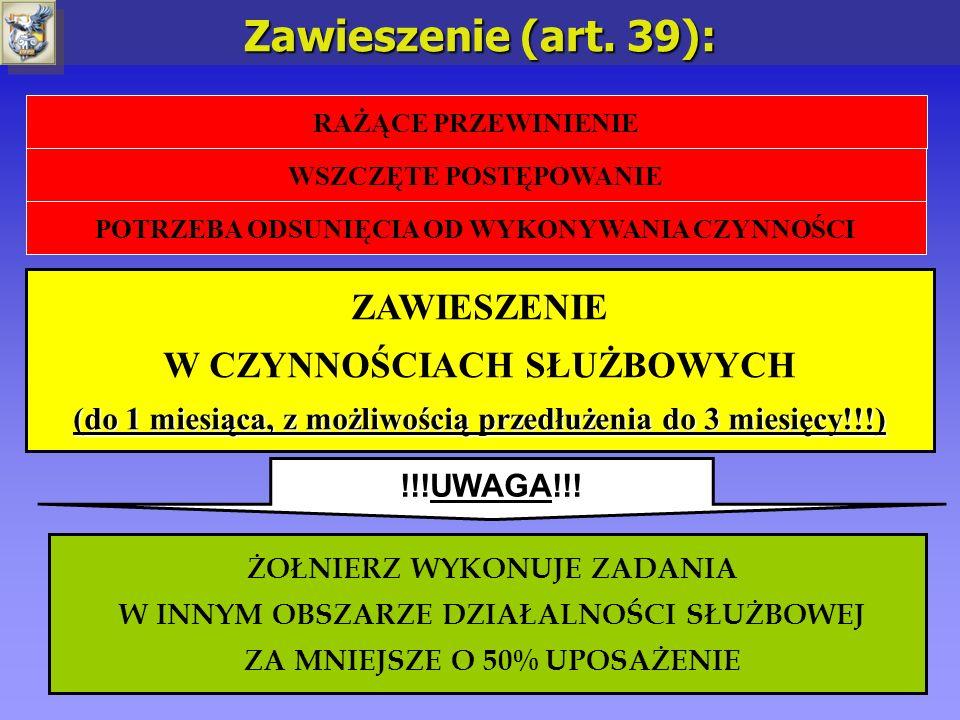 5 OSADZENIE W IZBIE ZATRZYMAŃ (do 24 h od chwili OSADZENIA A NIE ZATRZYMANIA!!!) Osadzenie (art.