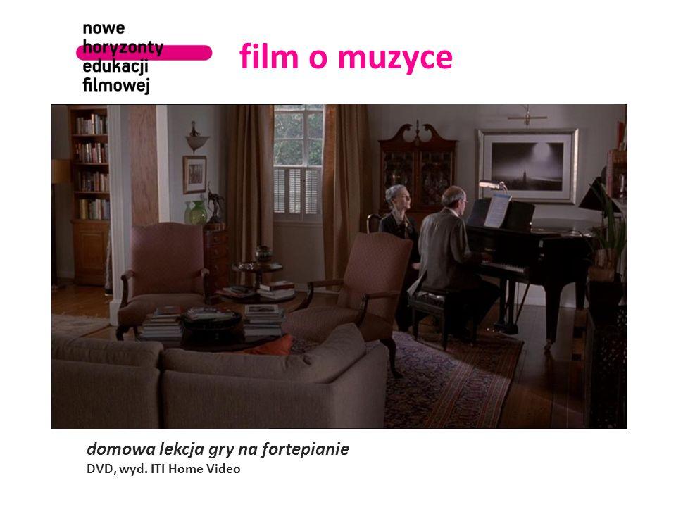 film o muzyce domowa lekcja gry na fortepianie DVD, wyd. ITI Home Video
