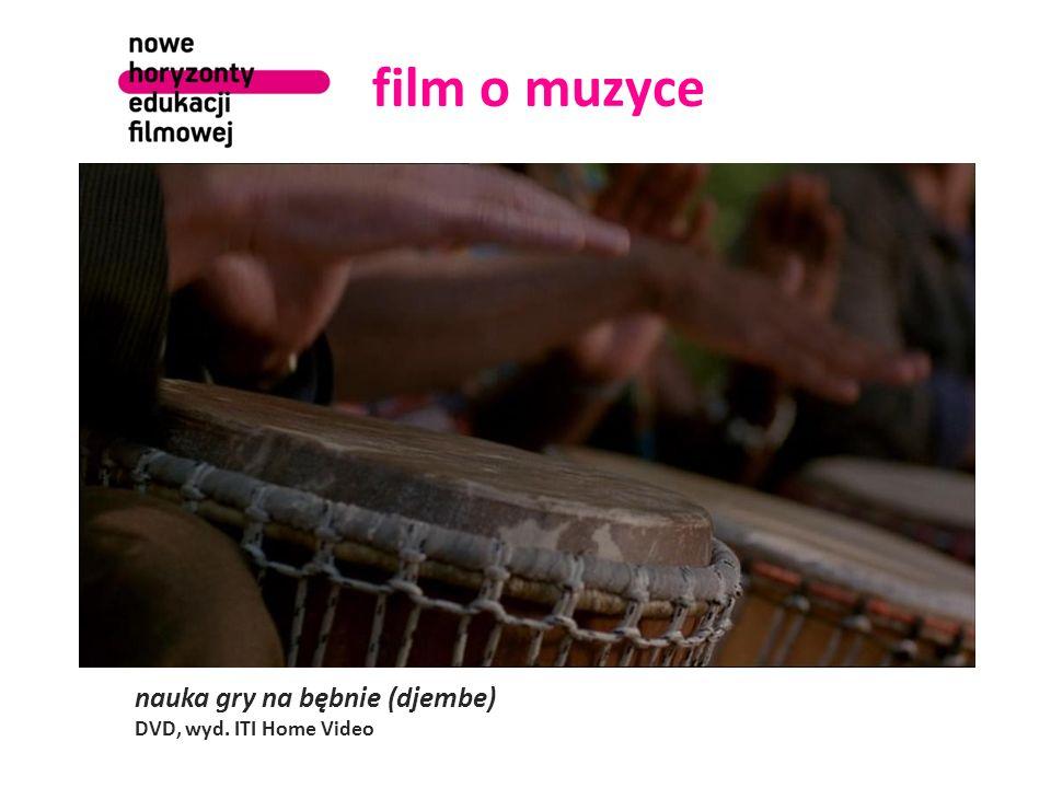 film o muzyce nauka gry na bębnie (djembe) DVD, wyd. ITI Home Video