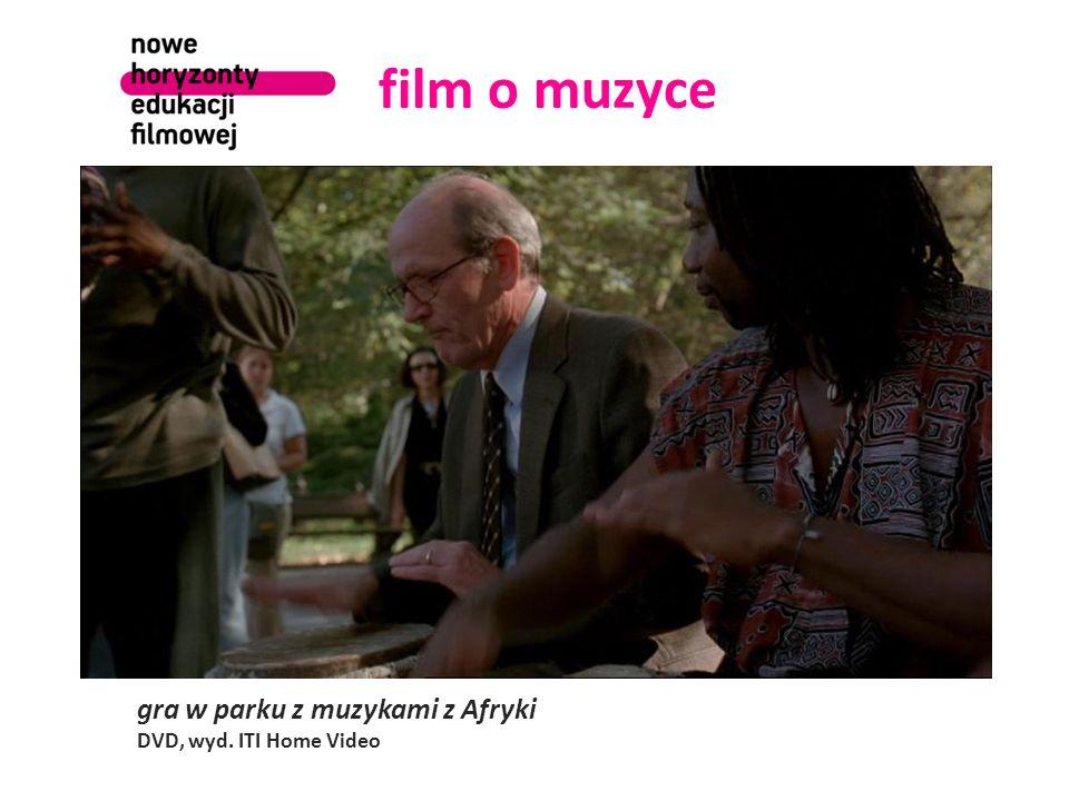 film o muzyce gra w parku z muzykami z Afryki DVD, wyd. ITI Home Video