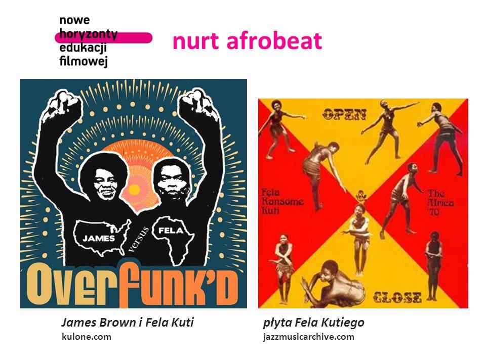 nurt afrobeat James Brown i Fela Kuti kulone.com płyta Fela Kutiego jazzmusicarchive.com