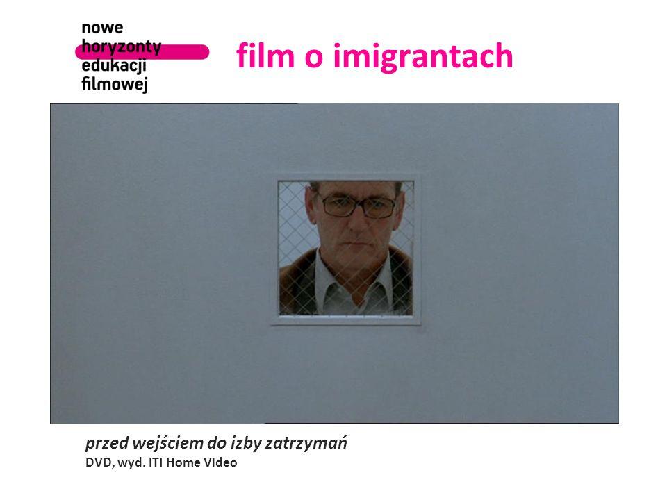 film o imigrantach przed wejściem do izby zatrzymań DVD, wyd. ITI Home Video