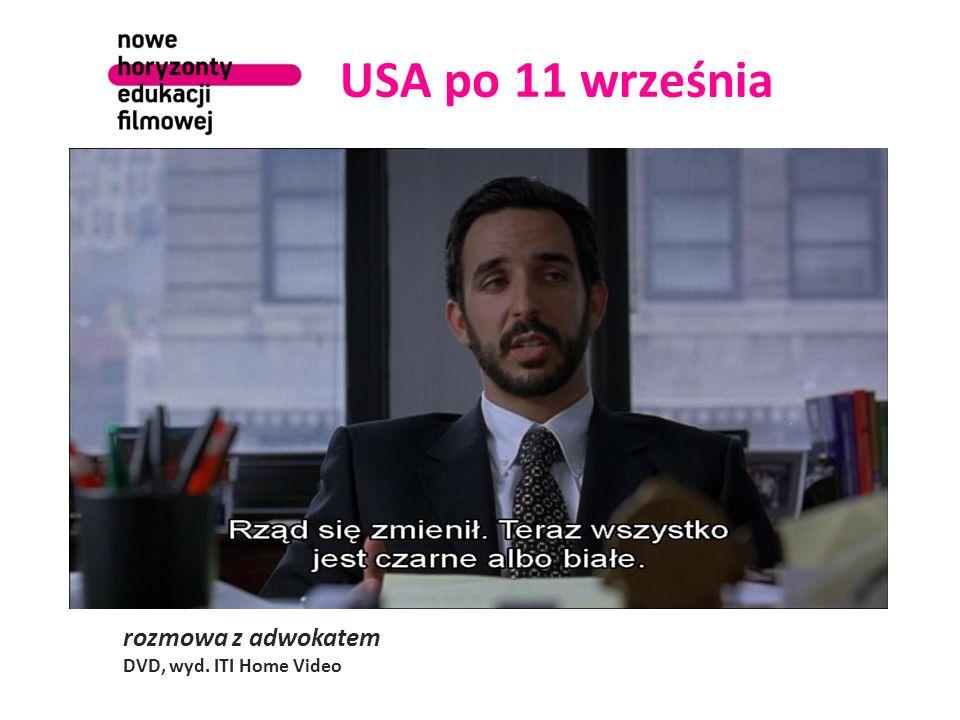 USA po 11 września rozmowa z adwokatem DVD, wyd. ITI Home Video
