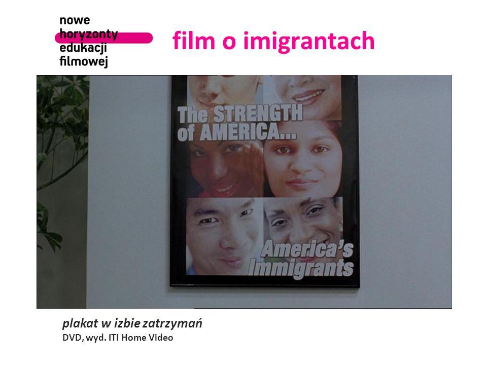 film o imigrantach plakat w izbie zatrzymań DVD, wyd. ITI Home Video