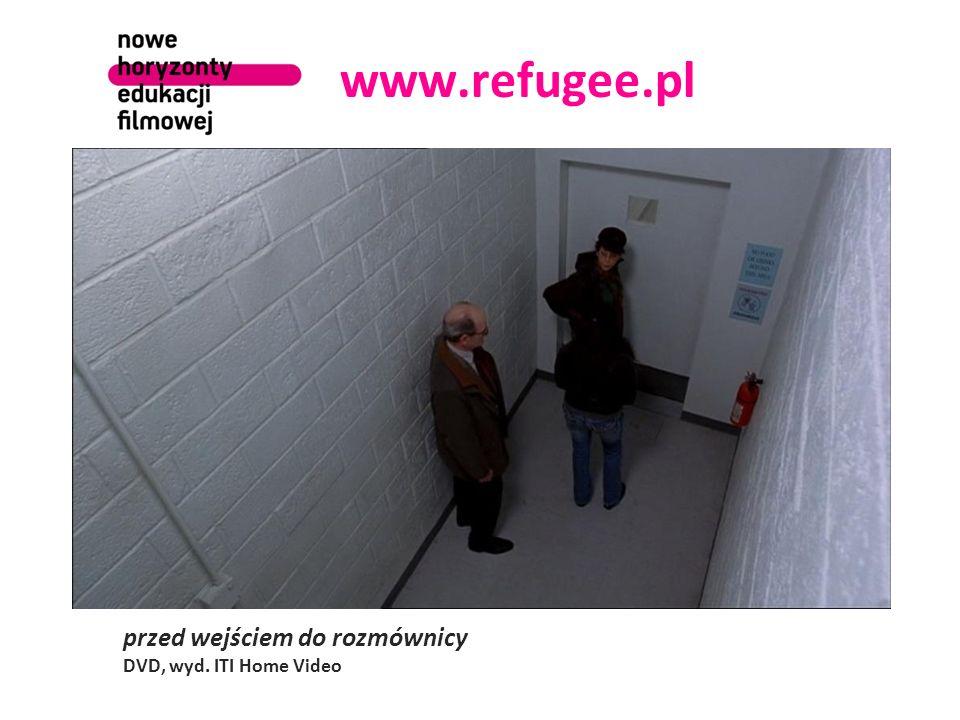 www.refugee.pl przed wejściem do rozmównicy DVD, wyd. ITI Home Video