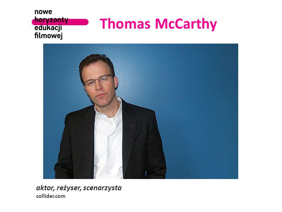 Thomas McCarthy aktor, reżyser, scenarzysta collider.com