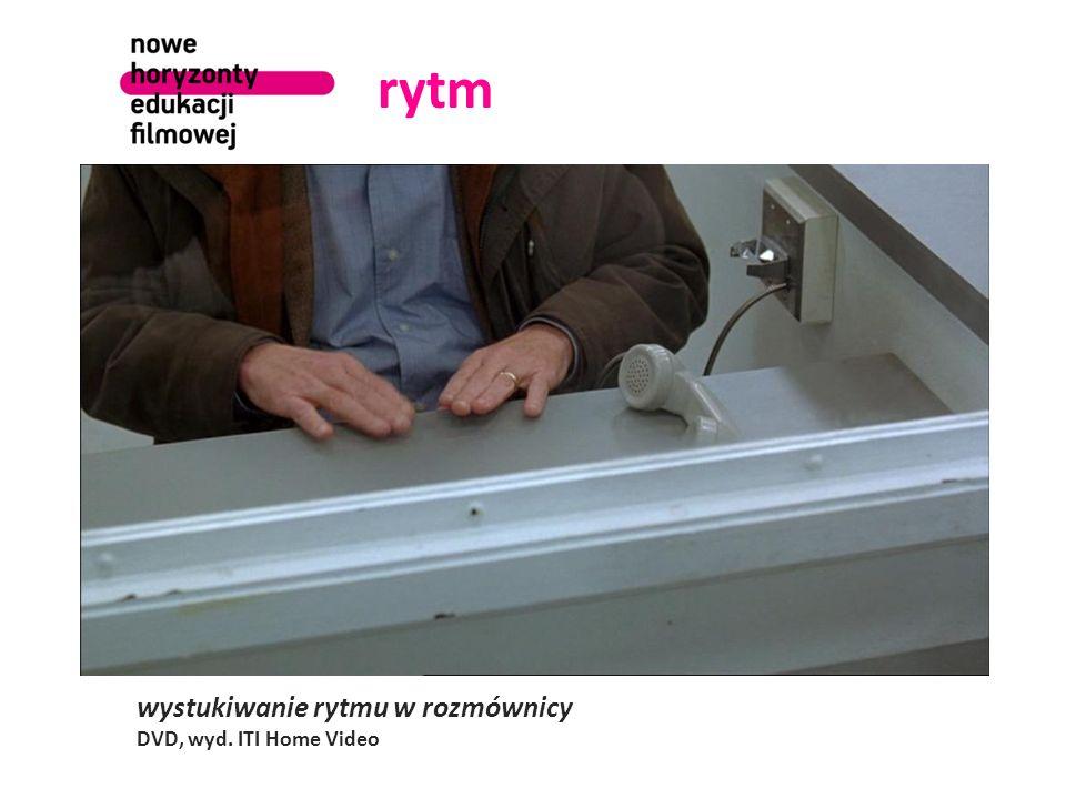 rytm wystukiwanie rytmu w rozmównicy DVD, wyd. ITI Home Video