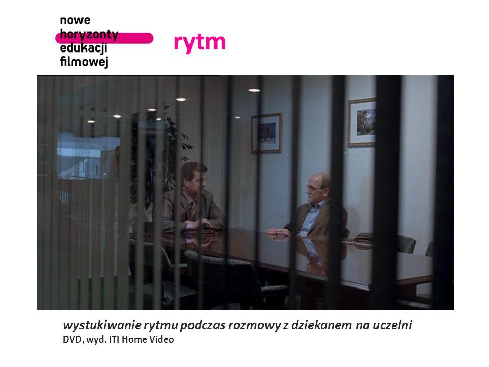 rytm wystukiwanie rytmu podczas rozmowy z dziekanem na uczelni DVD, wyd. ITI Home Video