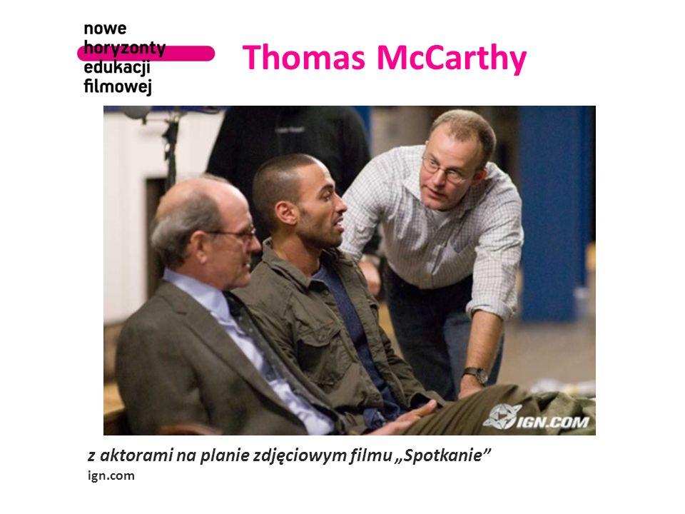 Thomas McCarthy z aktorami na planie zdjęciowym filmu Spotkanie ign.com