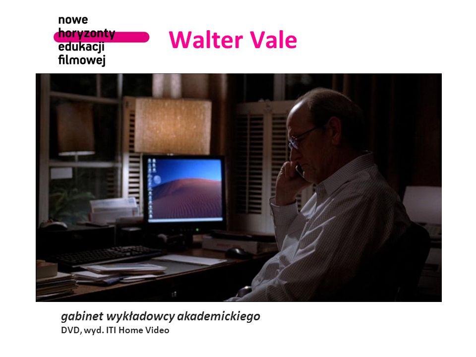 Walter Vale gabinet wykładowcy akademickiego DVD, wyd. ITI Home Video