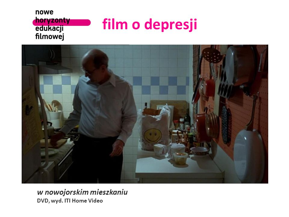 film o depresji w nowojorskim mieszkaniu DVD, wyd. ITI Home Video