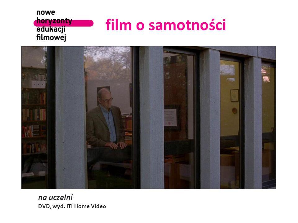 film o samotności na uczelni DVD, wyd. ITI Home Video
