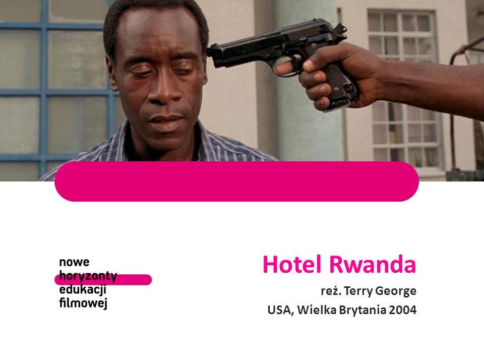 Paul Rusesabagina w filmie postać Rusesabaginy zagrał Don Cheadle DVD, wyd. Best Film