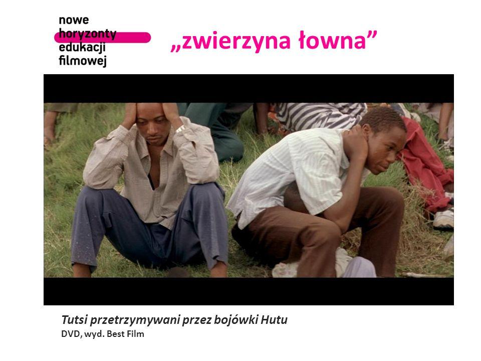 zwierzyna łowna Tutsi przetrzymywani przez bojówki Hutu DVD, wyd. Best Film