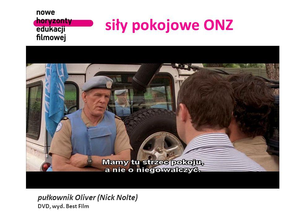 siły pokojowe ONZ pułkownik Oliver (Nick Nolte) DVD, wyd. Best Film