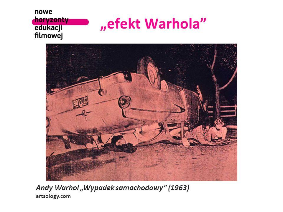 efekt Warhola Andy Warhol Wypadek samochodowy (1963) artsology.com