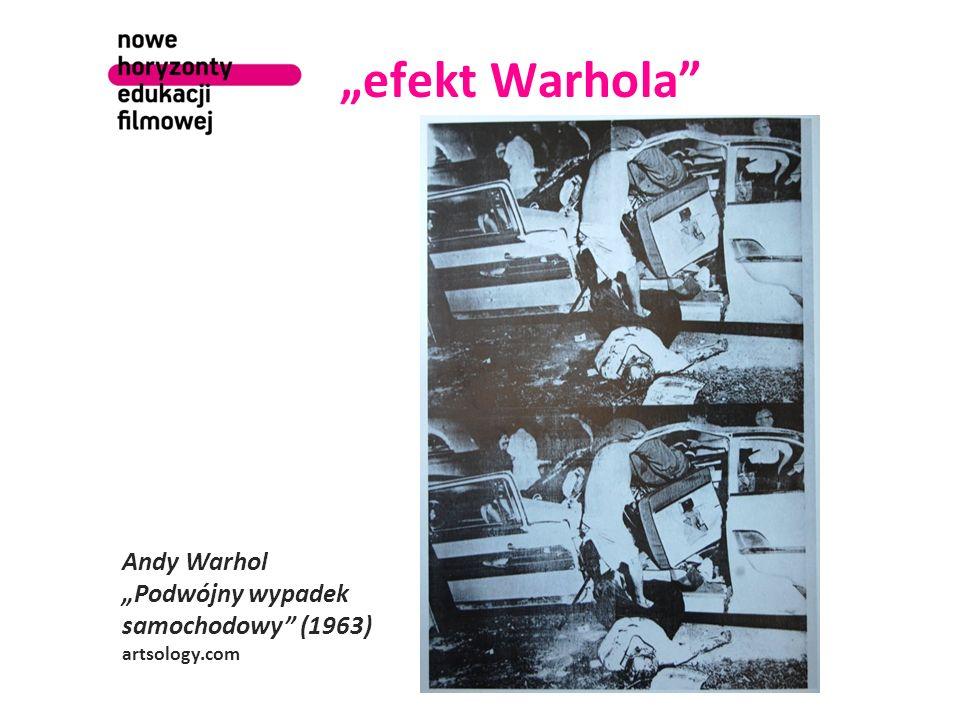 efekt Warhola Andy Warhol Podwójny wypadek samochodowy (1963) artsology.com