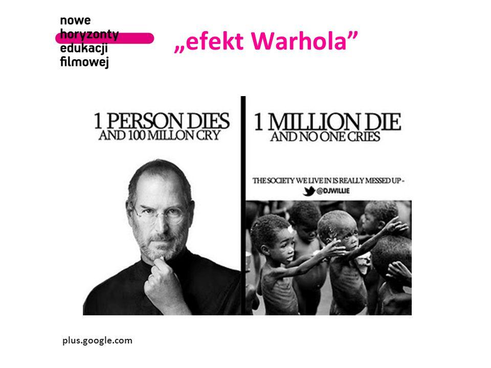 efekt Warhola plus.google.com