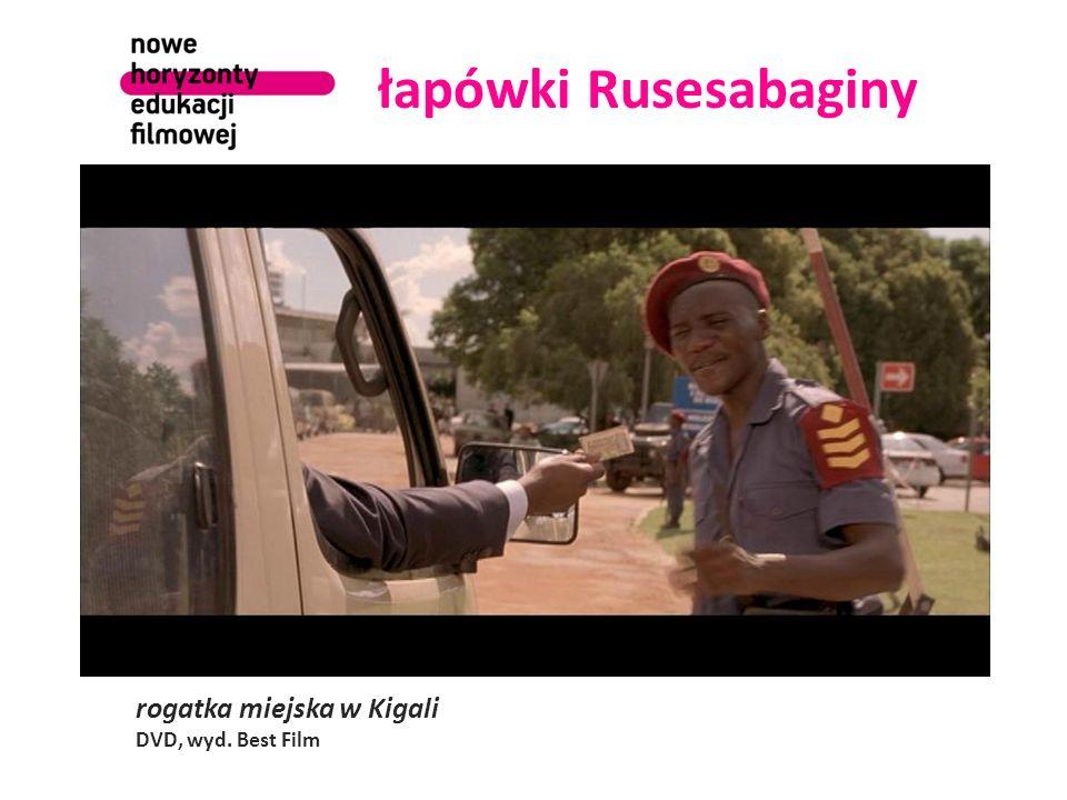 łapówki Rusesabaginy rogatka miejska w Kigali DVD, wyd. Best Film