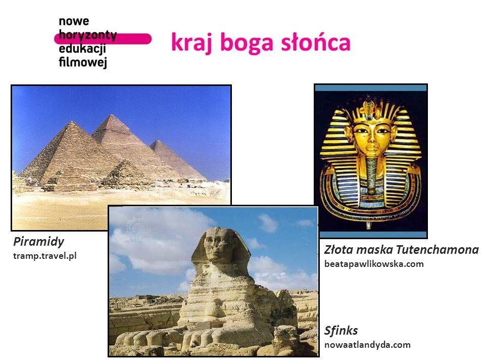 kraj boga słońca Piramidy tramp.travel.pl Złota maska Tutenchamona beatapawlikowska.com Sfinks nowaatlandyda.com