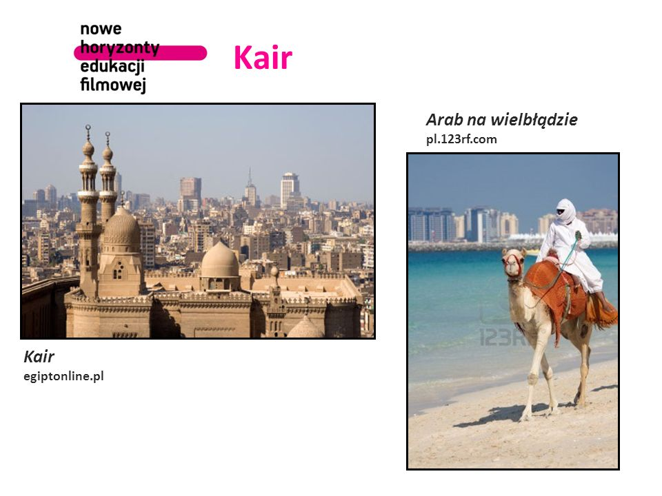 Kair Arab na wielbłądzie pl.123rf.com Kair egiptonline.pl