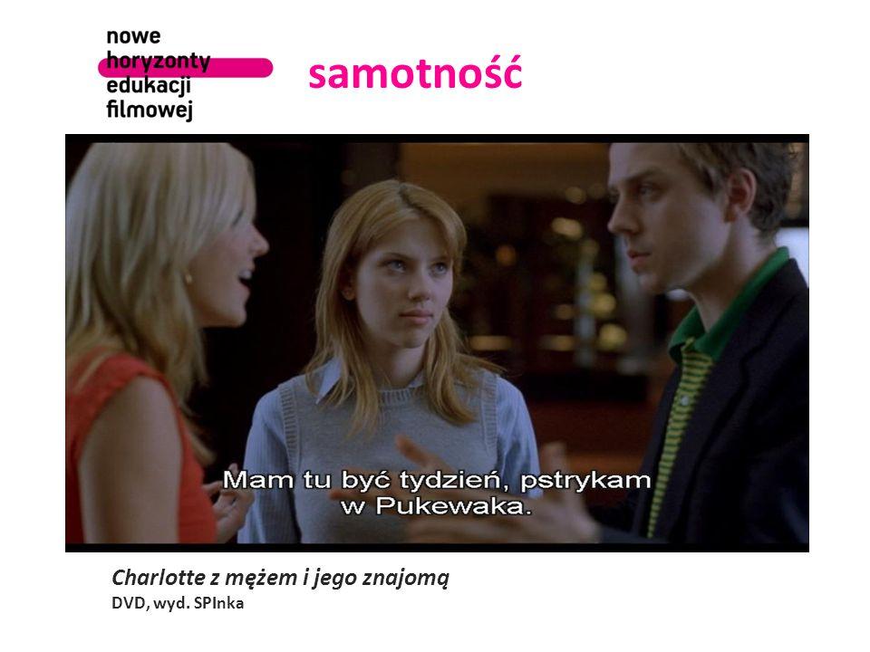 samotność Charlotte z mężem i jego znajomą DVD, wyd. SPInka