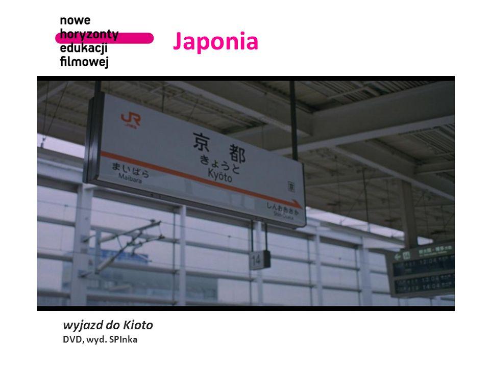 Japonia wyjazd do Kioto DVD, wyd. SPInka