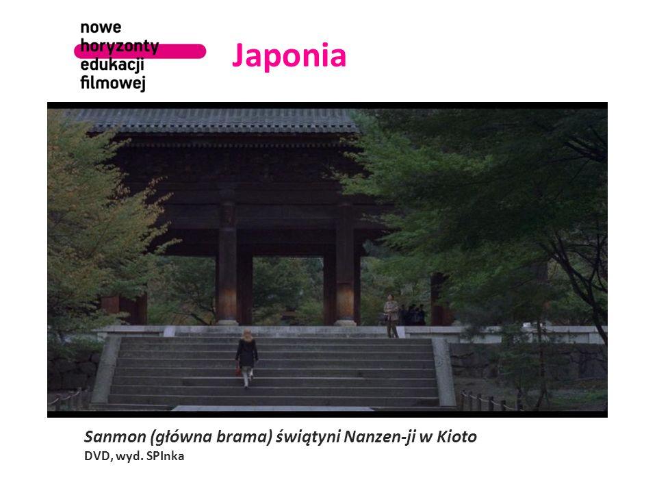 Japonia Sanmon (główna brama) świątyni Nanzen-ji w Kioto DVD, wyd. SPInka