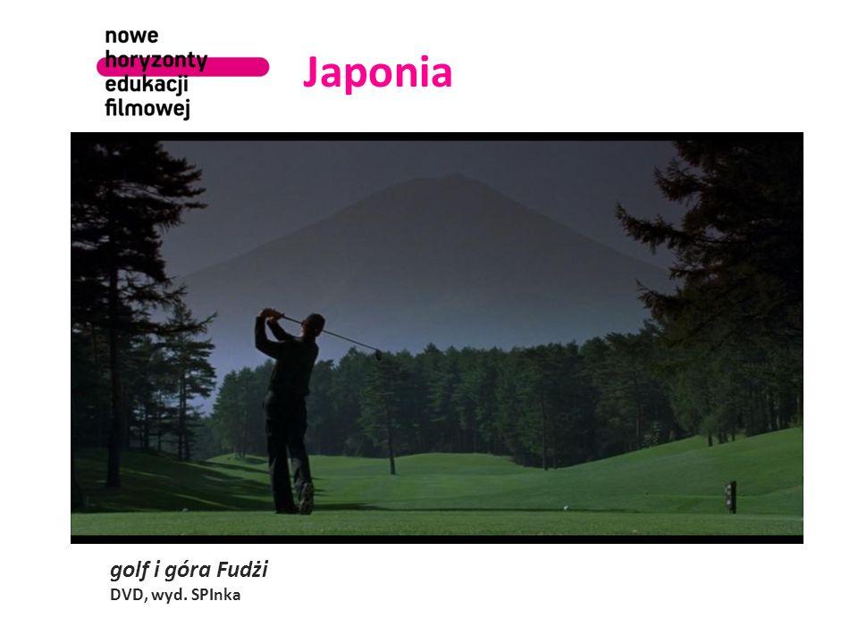 Japonia golf i góra Fudżi DVD, wyd. SPInka