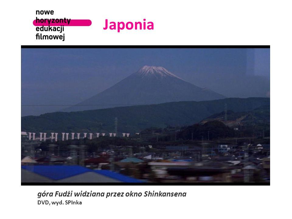 Japonia góra Fudżi widziana przez okno Shinkansena DVD, wyd. SPInka