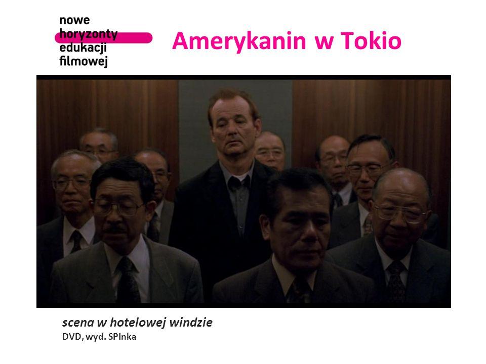 Amerykanin w Tokio scena w hotelowej windzie DVD, wyd. SPInka