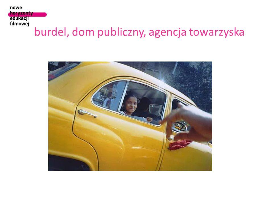burdel, dom publiczny, agencja towarzyska