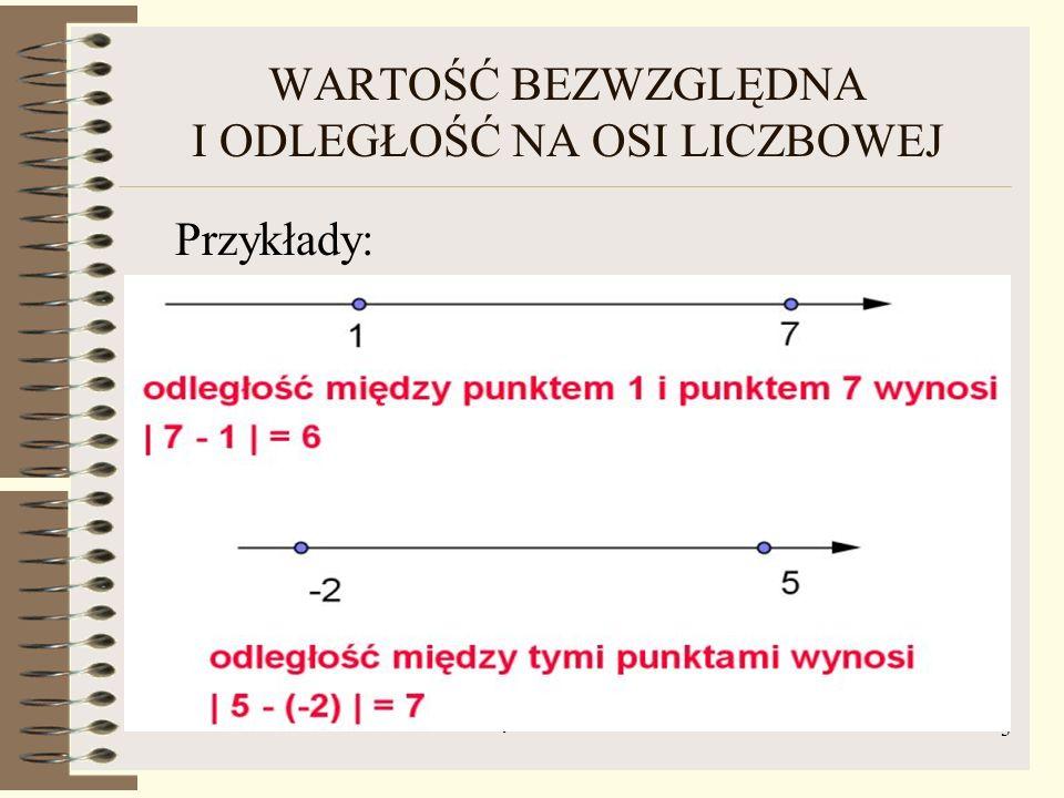 HARALD KAJZER - WARTOŚĆ BEZWZGLĘDNA I PRZEDZIAŁY 4 PRZEDZIAŁY SYMETRYCZNE WZGLĘDEM ZERA Znajdź rozwiązanie algebraiczne i graficzne nierówności: Rozwiązanie: Szukamy liczb, których odległość od zera na osi liczbowej jest mniejsza od 3