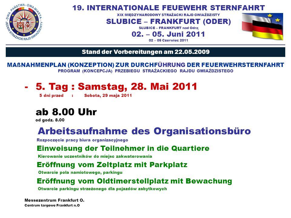 INTERNETSEITE : STRONA INTERNETOWA www.feuerwehrsternfahrt-2011.eu