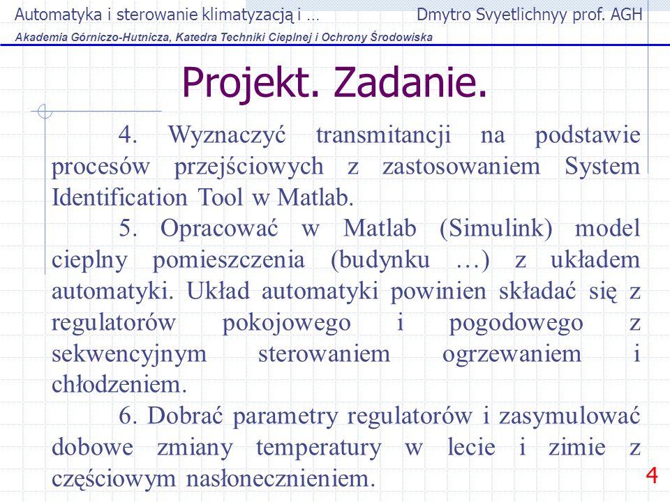 Automatyka i sterowanie klimatyzacją i … Dmytro Svyetlichnyy prof.